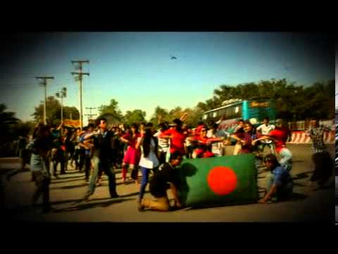 ICC World Twenty20 Bangladesh 2014 - Cricket Fever in Jahangirnagar University ( Flash Mob )