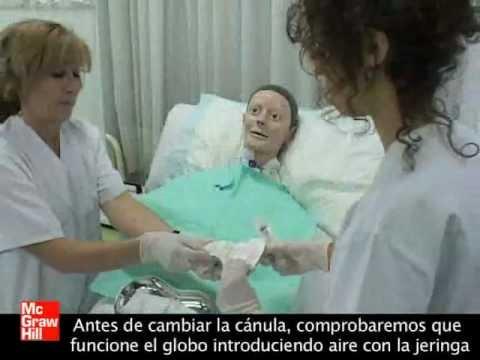 Cambio Cánula de Traqueotomía - Auxiliar de Enfermería - Editorial McGraw-Hill