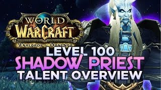 WARLORDS OF DRAENOR (BETA) LEVEL 100 SHADOW PRIEST