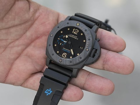 Hands On: Panerai Luminor Pam616  Submersible Carbotech 3 Days Automatic