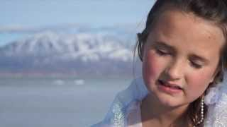 8 Year Old Bella Sings Let It Go ~ Walking On Ice And