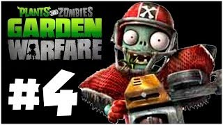Plants vs. Zombies Garden Warfare - More ZOMBIES!! Online Multiplayer - PART 4 (Xbox One)
