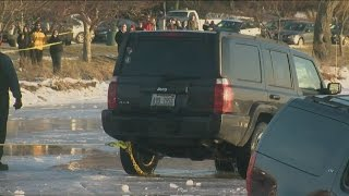 Cars Fall Through The Ice At Lake Geneva Winterfest In 40 Degree Weather