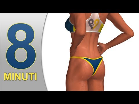 Glutei in 8 minuti - Rassodare glutei per l'estate