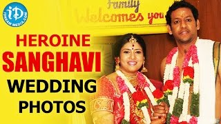 Actress Sanghavi weds IT professional ! -Photo Play