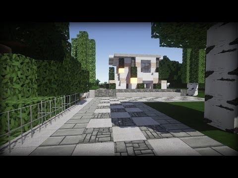 Modernes Haus in Minecraft - Minecraft Tutorial