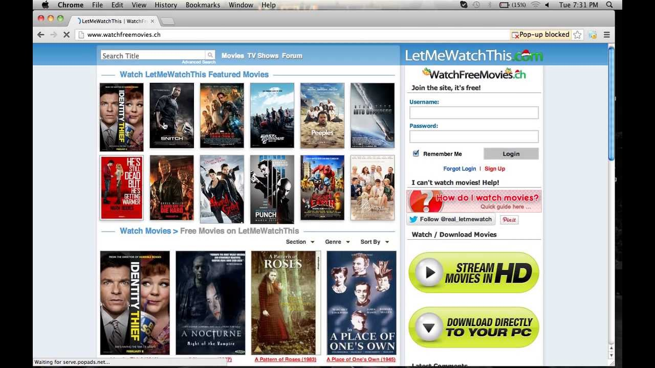 how to watch free online movies no downloads no signups. Black Bedroom Furniture Sets. Home Design Ideas