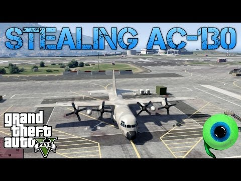 Grand Theft Auto V Challenges | STEALING THE C-130 (TITAN) | LOSING CHOPPERS IN WIND FARM
