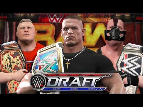 WWE 2K17 Story - John Cena Returns To RAW for Draft 2017 🏆 - Ep.53