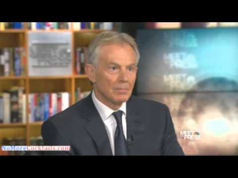 David Gregory Blames Tony Blair And George Bush For Radical Islam's Spread