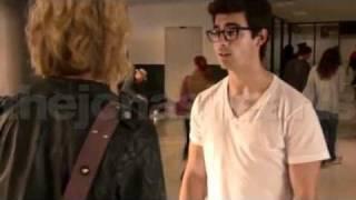 Joe Jonas Chelsea Staub KISSING Video