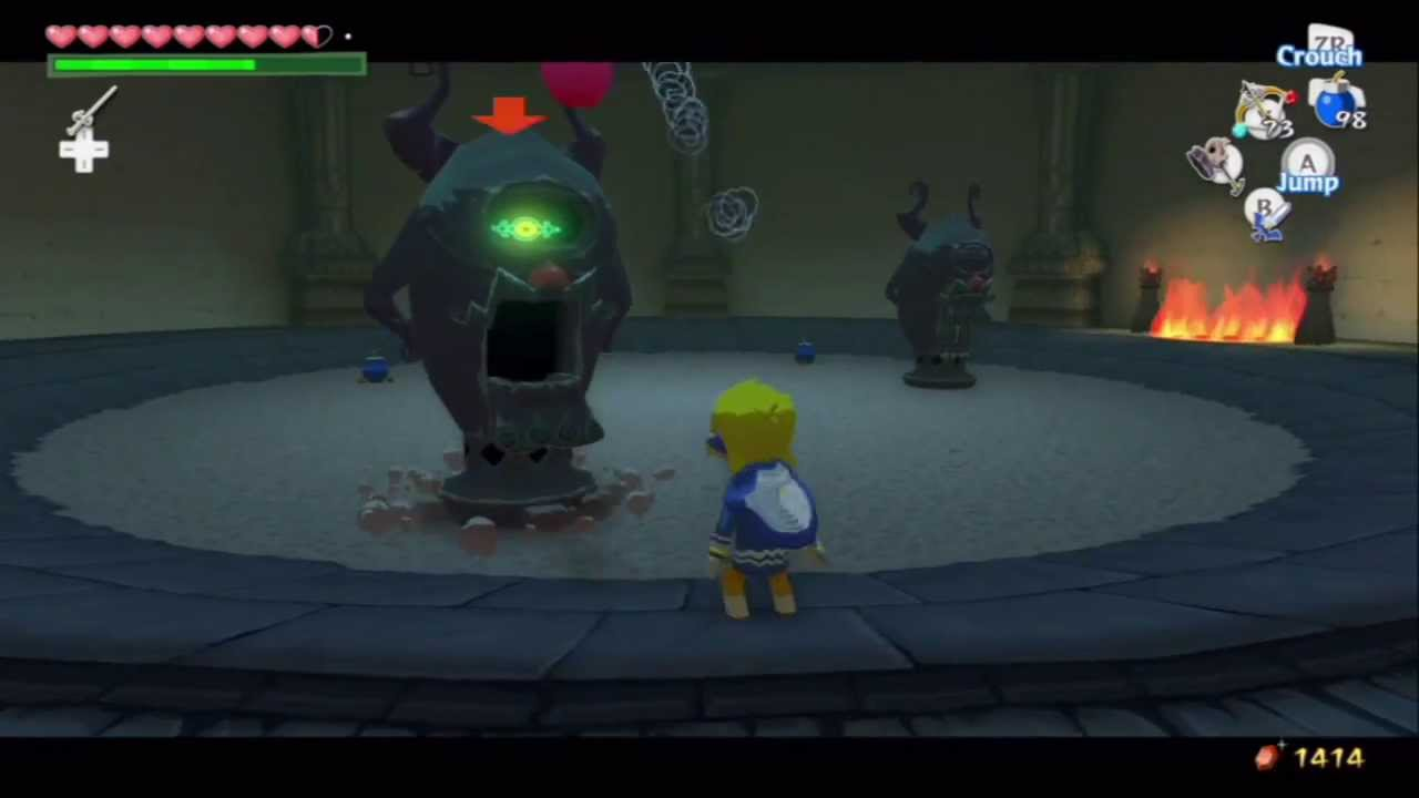 wind waker how to read the ghost chart