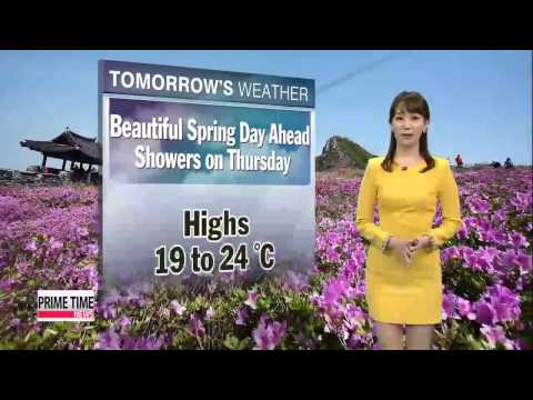Warm spring day on Wednesday, but nationwide showers on Thursday