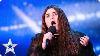 Can nervous opera singer Emma Jones find her voice? | Britain's Got Talent 2015