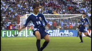 Argentina vs England - World Cup 1998 - part 1/ view on youtube.com tube online.