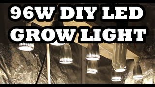 96w DIY LED Grow Light How To Build It For $57