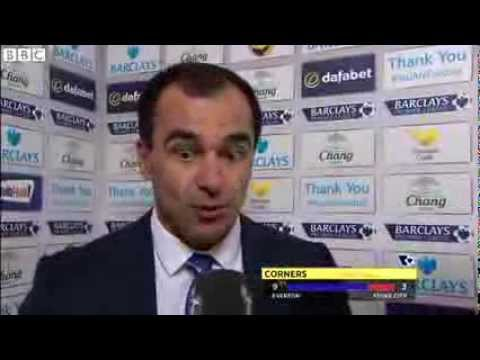 Everton boss Roberto Martinez hails Gerard Deulofeu after 4-0 Stoke win