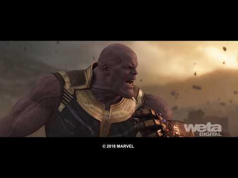 Vizuálne efekty - Avengers Infinity War