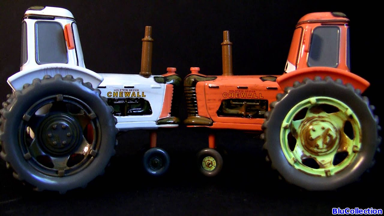Tractor From Cars : Disney cars tractor tipping deluxe diecast set frank