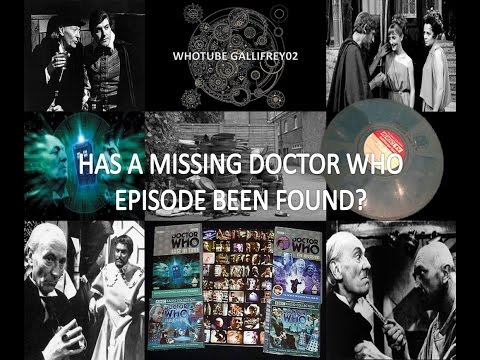 Has A Missing Doctor Who Episode Been Found?