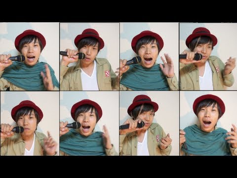 Attack on Titan Beatbox OP Theme cover,