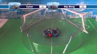 BeyBall! Bloque A: Big Bang, Scythe, Cyber, Fusion!