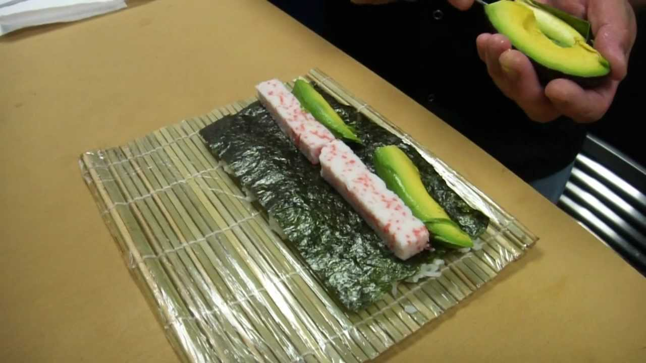 Original california roll how to make sushi series youtube for Nove kitchen and bar