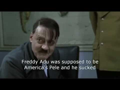 Hitler learns that Landon Donovan was cut from the U.S. National Team