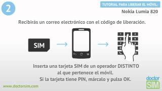 Liberar Nokia Lumia 820, Desbloquear Nokia Lumia 820