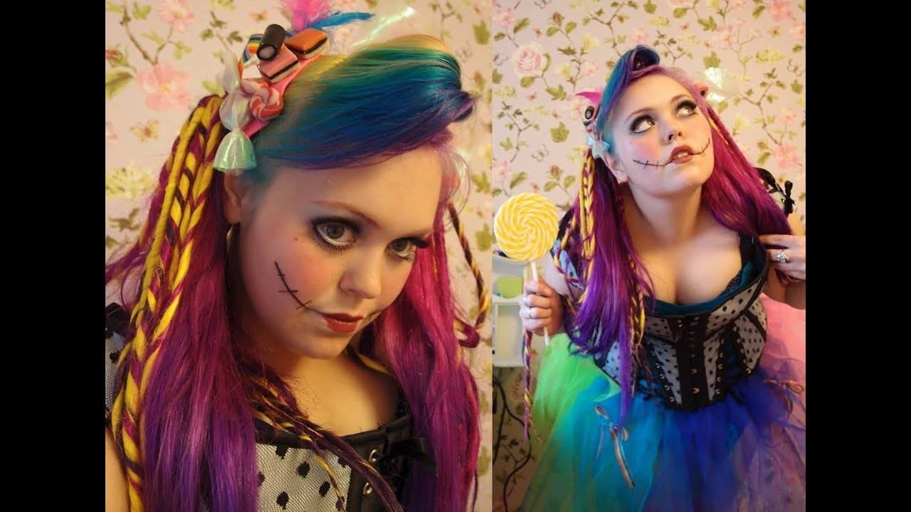 maquillaje Para Halloween: Candy Doll - YouTube