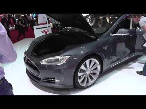 Tesla P85 S World Premiere @ Geneva Motor Show 2014