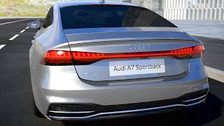 Audi A7 Sportback (2018) HIGH-TECH FEATURES. YouCar Car Reviews.