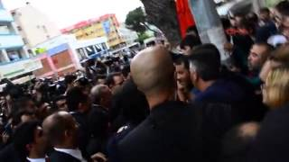 Erdoğana Manisa'da Protesto
