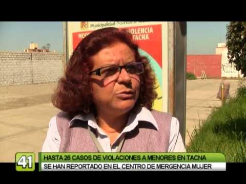 REPORTAN 26 CASOS DE VIOLACIONES A MENORES EN TACNA