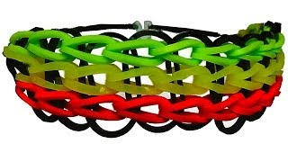 HOW TO MAKE A RAINBOW LOOM TRIPLE SINGLE BRACELET WITH