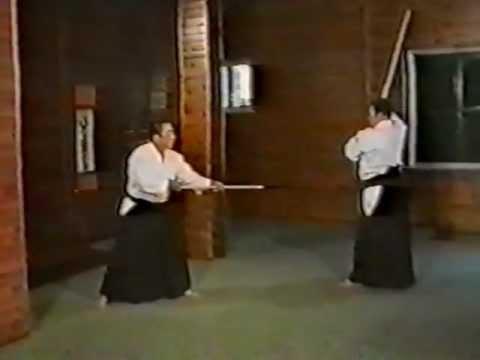 Morihiro Saito  10 Kumi Jo 3 Jo kata