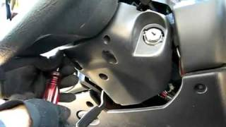 Ignition Lock Cylinder Remove