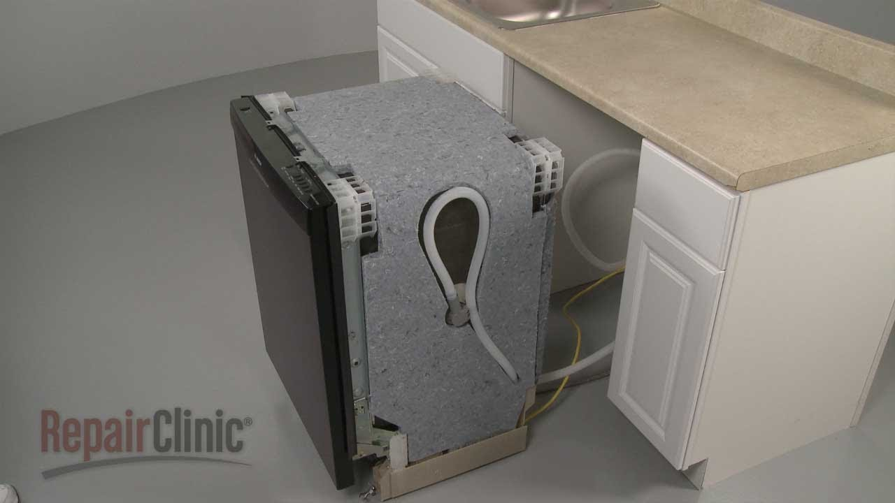 Bosch Dishwasher Removal And Installation Youtube