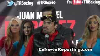 Juan Manuel Marquez Vs Mike Alvarado Full Press Conference