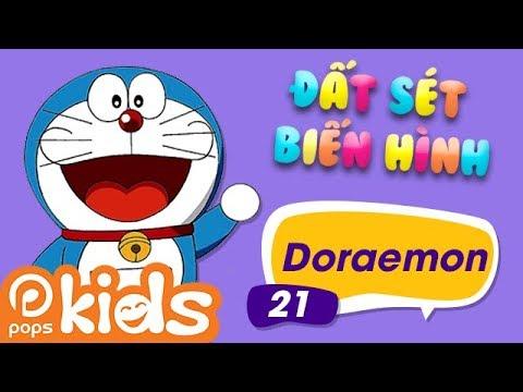 Đất Sét Biến Hình - Tập 21 - Doraemon - Hướng Dẫn Nặn Đất Sét Nhân Vật Doraemon