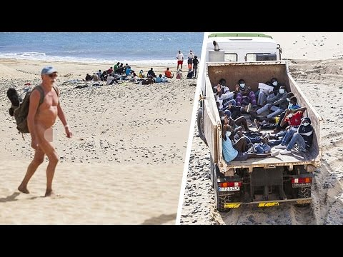 African Immigrants Bring Ebola Scare To Nudist Beach In Spain