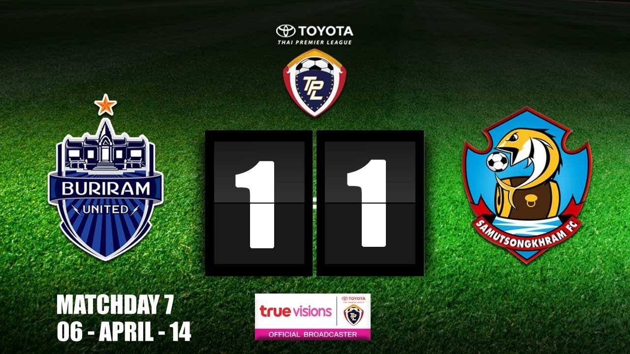 Buriram United 1-1 Samut Songkhram FC