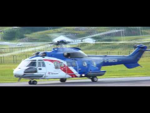 Bristow Helicopters Super Puma at Donegal Airport EIDL