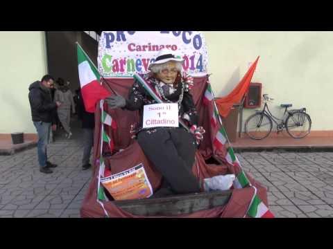 Carinaro (CE) - Il Carnevale della Pro Loco (02.03.14)