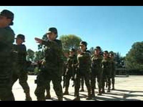 Entrenamiento militar igual para hombres y mujeres