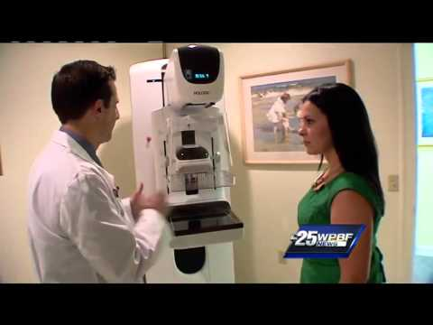 3-D mamography being used to help women detect breast cancer