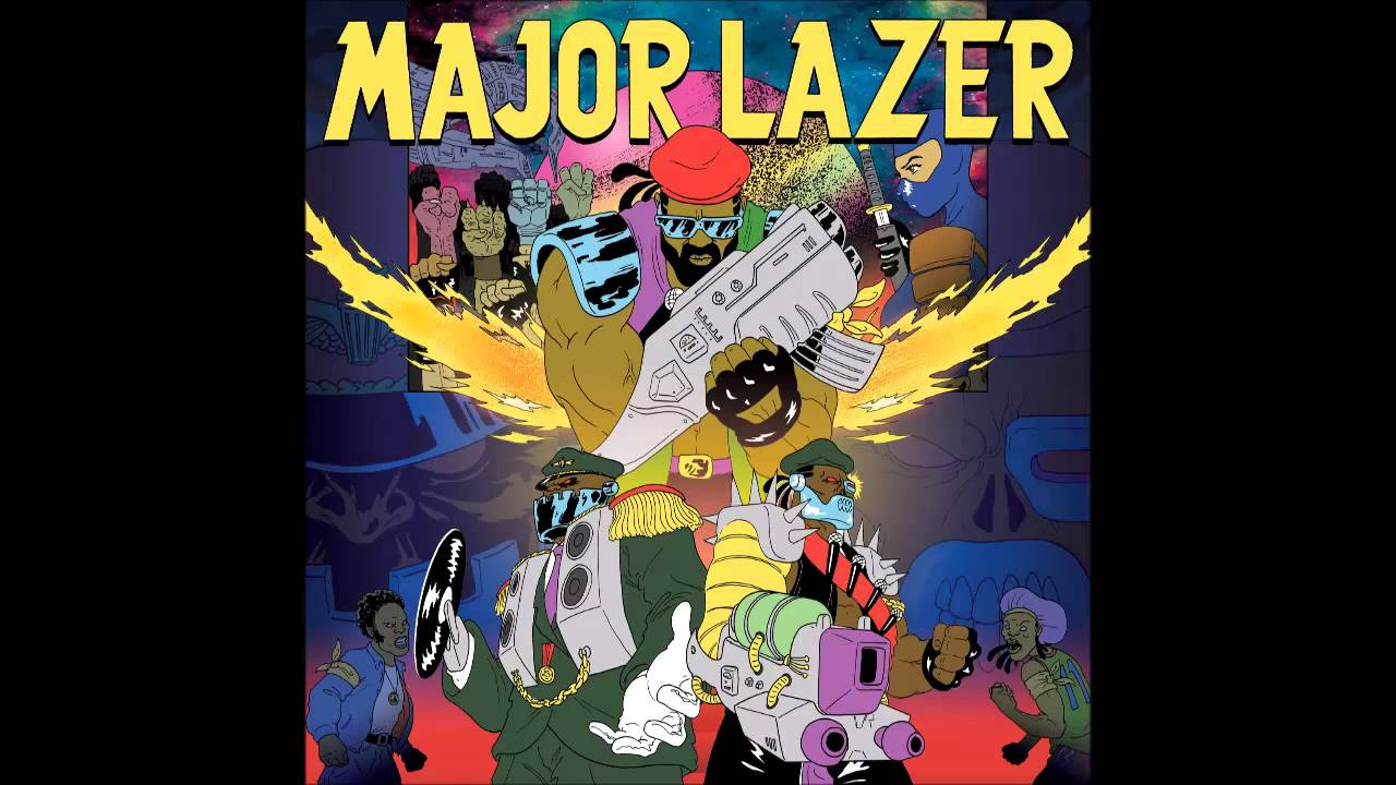 Major Lazer - Sweat (feat. Laidback Luke & Ms. Dynamite)