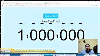 Chúc Mừng Bác Tân x Kênh Hoa Ban Food đạt 1 triệu Sub - Nút Vàng sắp về bản | Văn Hóng