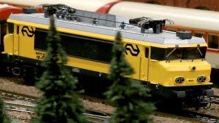 Modelleisenbahn der Railgroup RIVM Modelspoorbaan