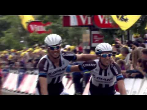 Pleasure Team Giant-Shimano after wins Marcel Kittel ( 4 stage )